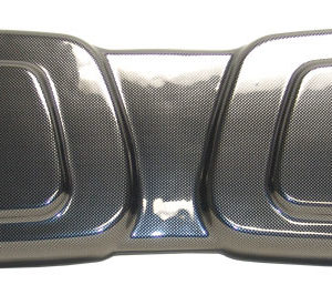 Brushed Sterling Seat Back for Club Car DS
