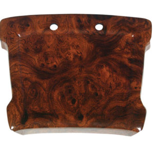 Regal Burl Steering Wheel Cover for Club Car DS